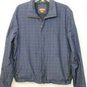 Mens Michael Kors Zip Up Nylon Jacket Size Medium